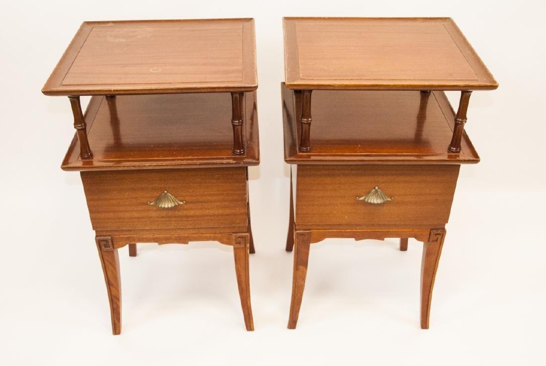 Pair Of Vintage RWAY Side Tables/Nightstands - 4