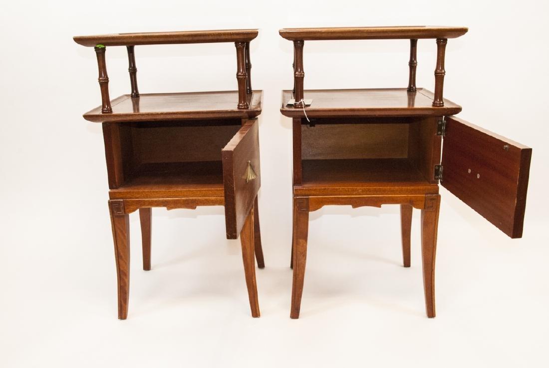 Pair Of Vintage RWAY Side Tables/Nightstands - 5