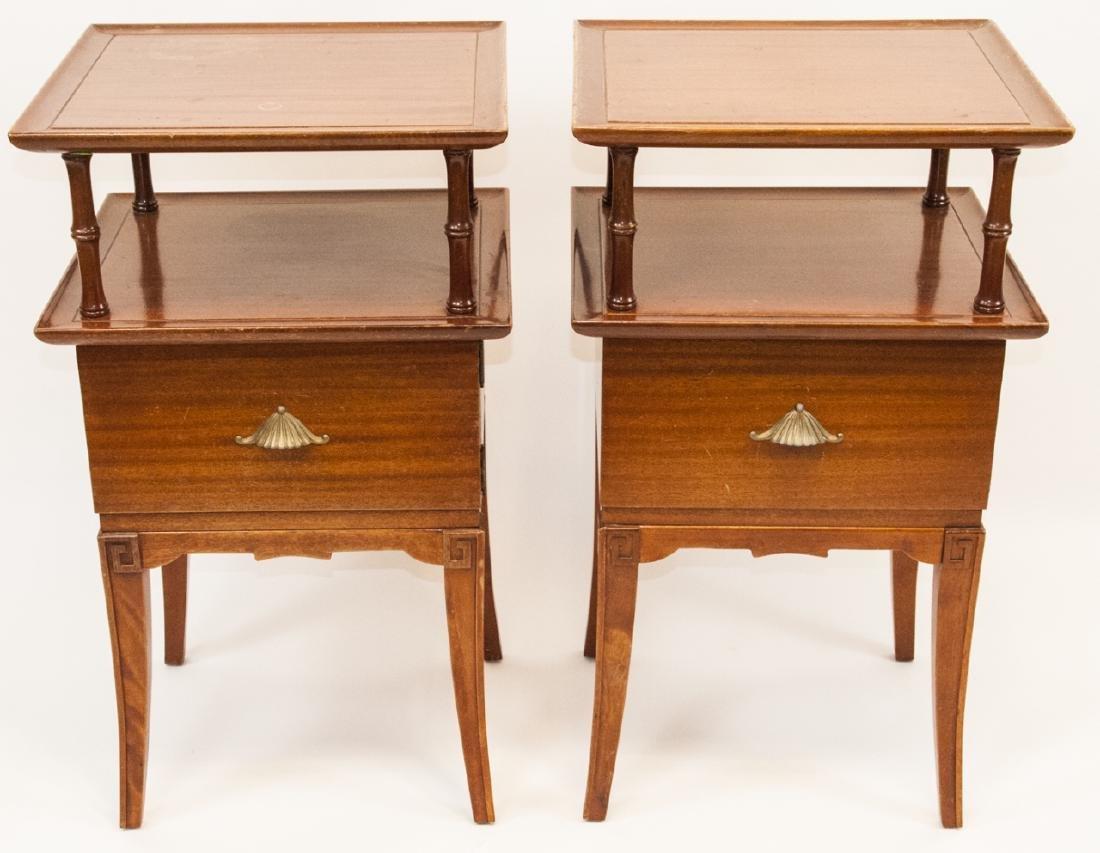 Pair Of Vintage RWAY Side Tables/Nightstands - 6