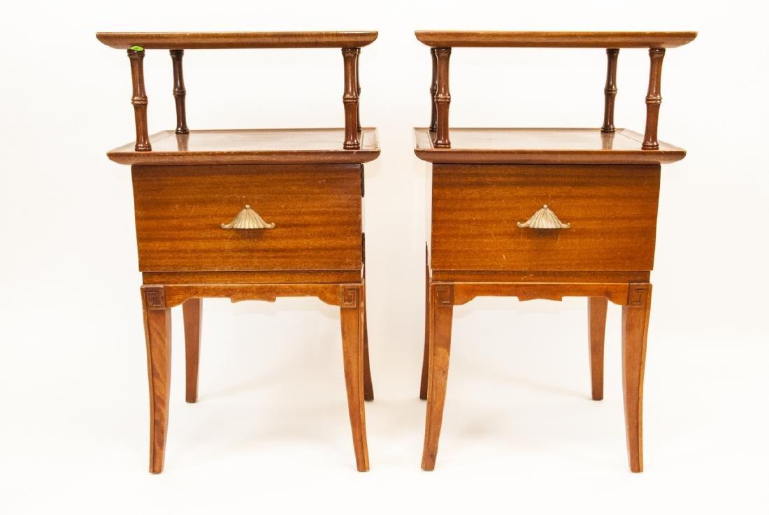 Pair Of Vintage RWAY Side Tables/Nightstands - 7