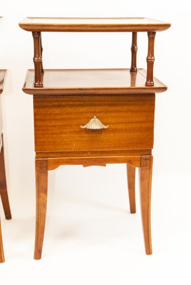 Pair Of Vintage RWAY Side Tables/Nightstands - 8