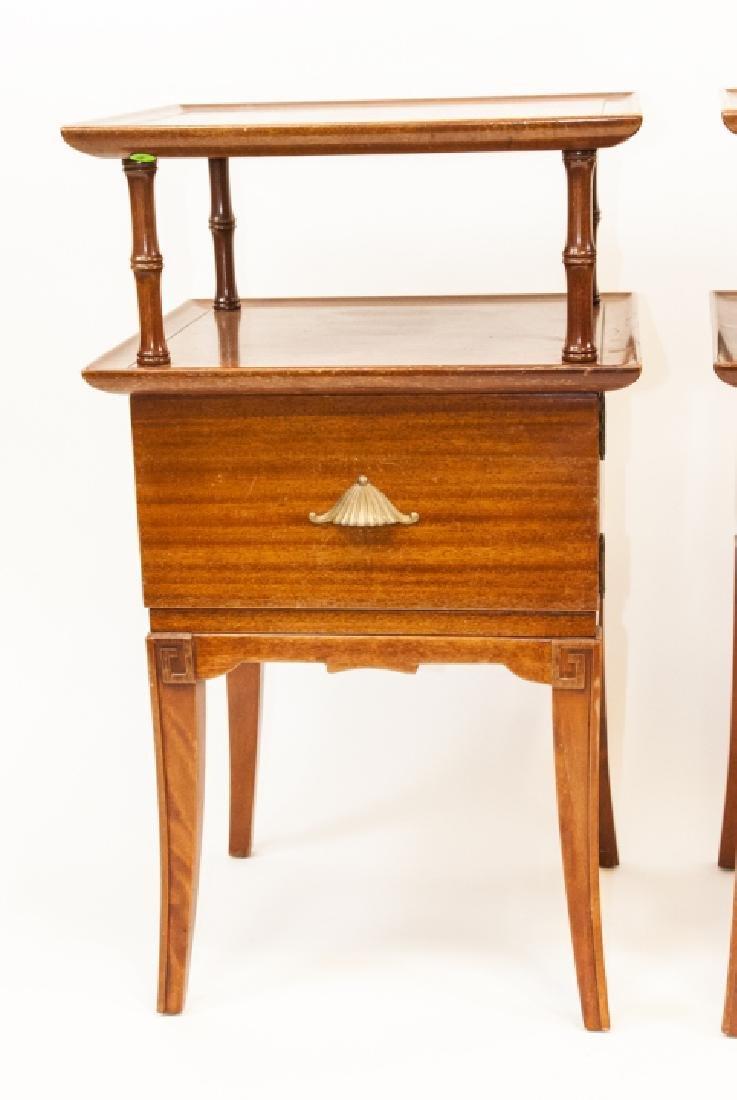 Pair Of Vintage RWAY Side Tables/Nightstands - 9