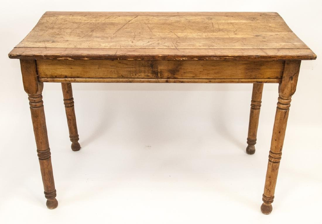 Antique 19th Century Farmhouse Style Table