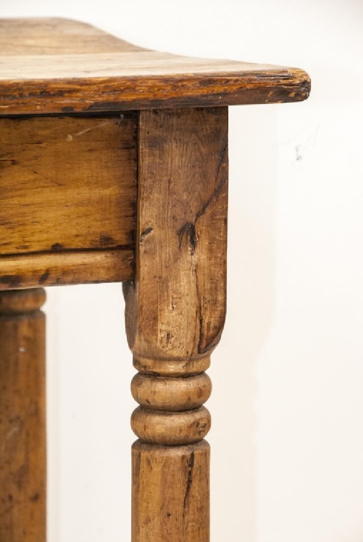 Antique 19th Century Farmhouse Style Table - 2