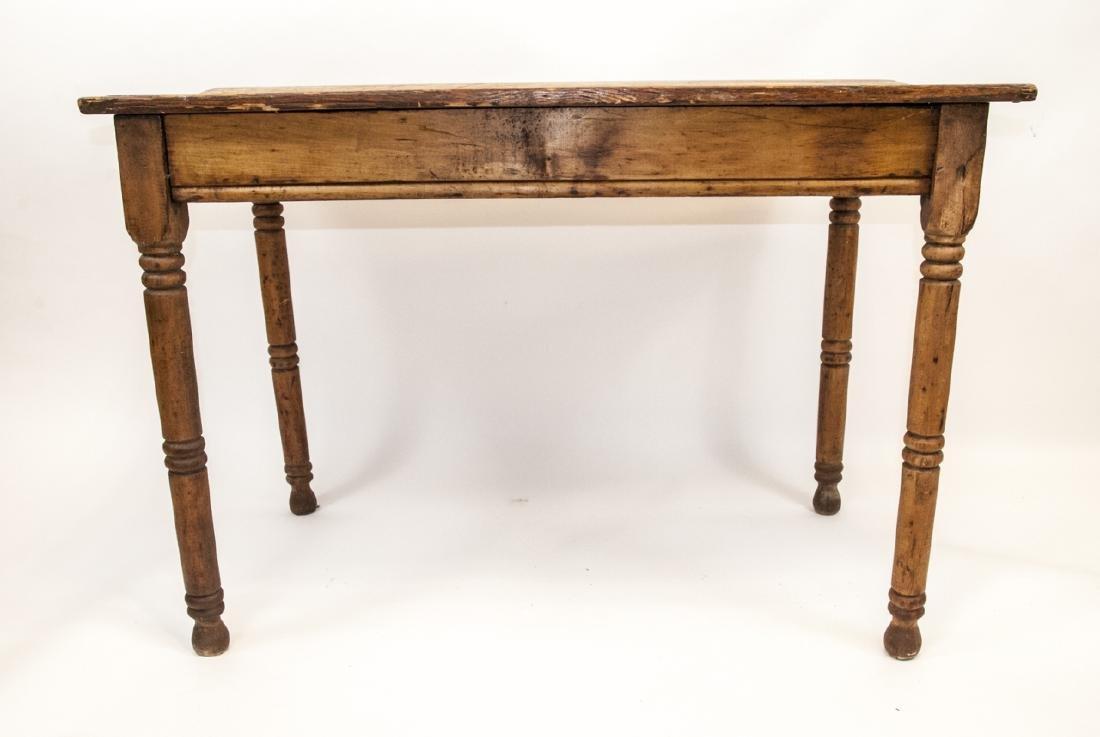 Antique 19th Century Farmhouse Style Table - 4