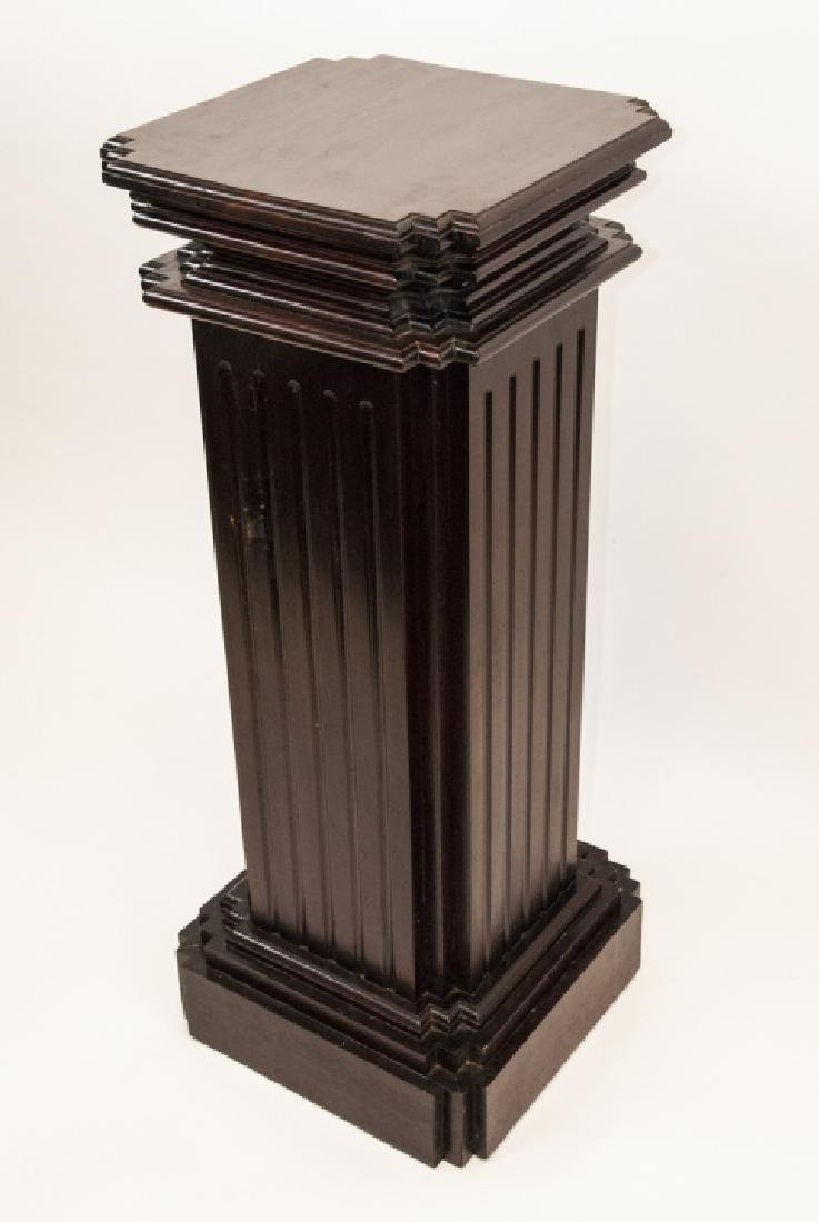 Neo Classical Hollow Wood Display Column