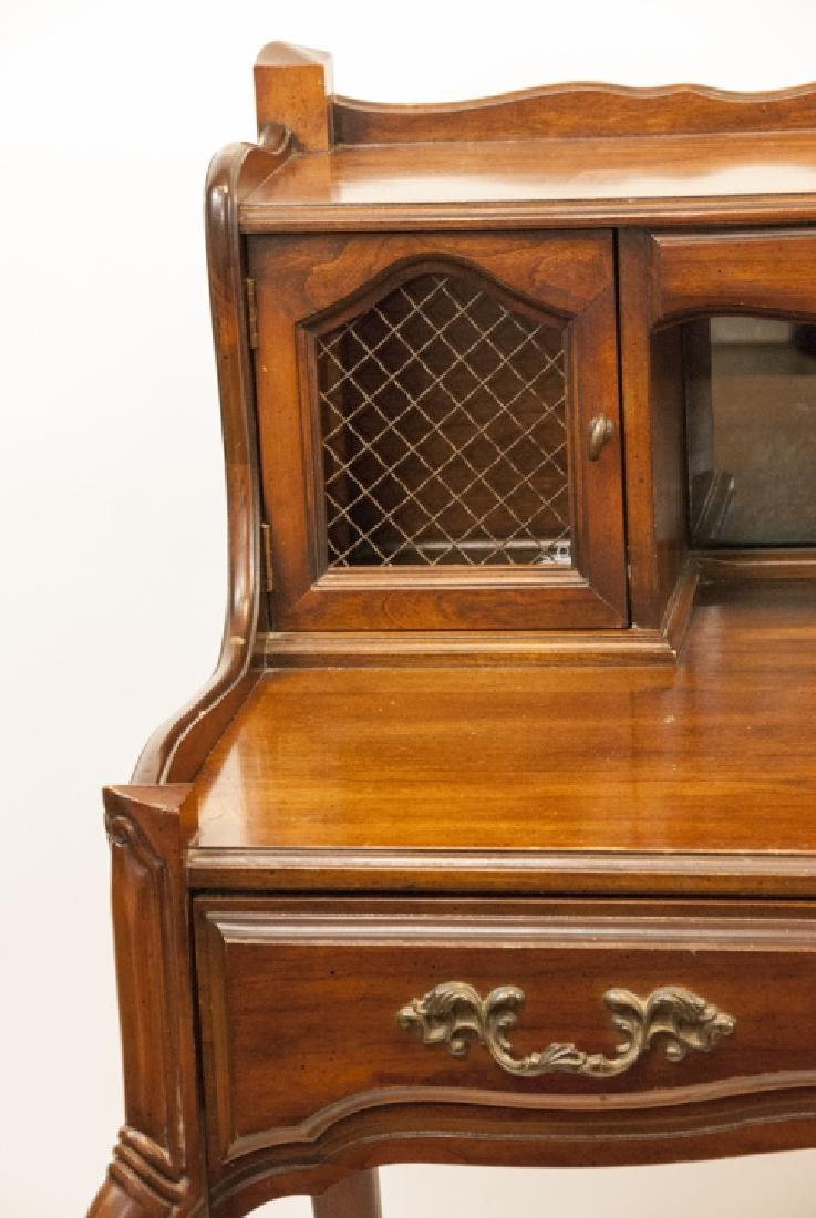 Antique National Mt. Airy Furniture Desk W/ Drawer - 3