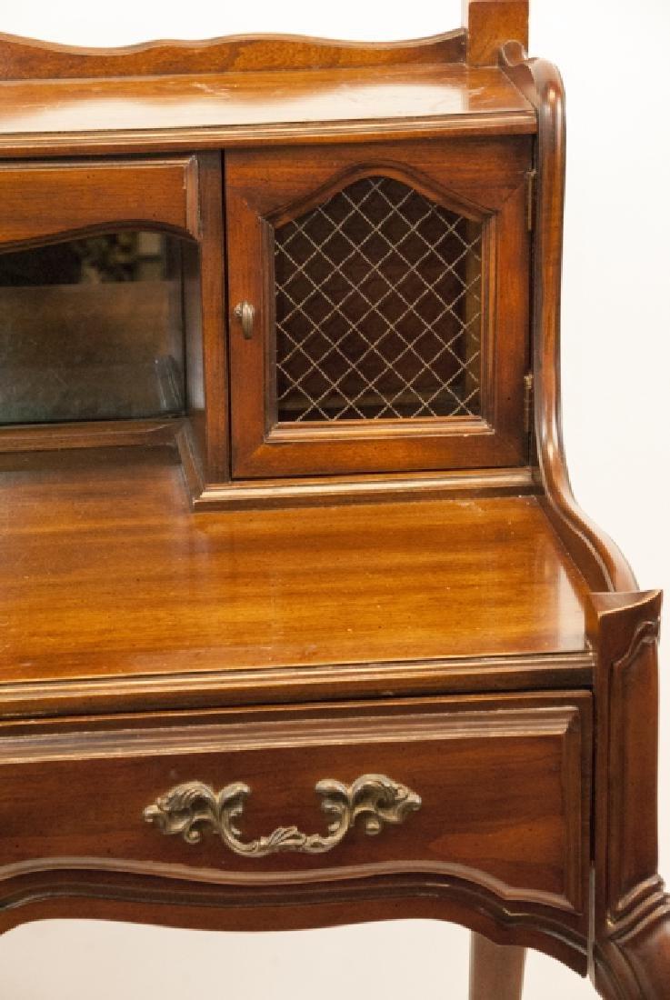 Antique National Mt. Airy Furniture Desk W/ Drawer - 4