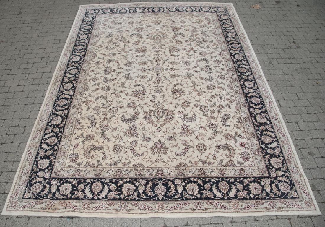 Oriental Tan W/ Red Persian Foliage & Paisley Rug