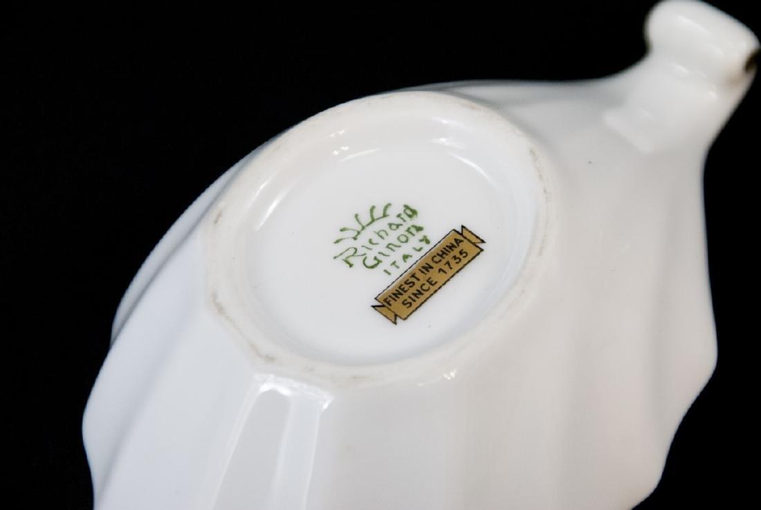 Three Assorted Richard Ginori Italian Porcelain - 10