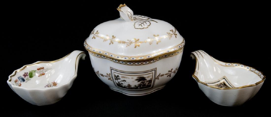 Three Assorted Richard Ginori Italian Porcelain