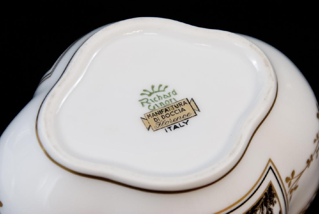 Three Assorted Richard Ginori Italian Porcelain - 6