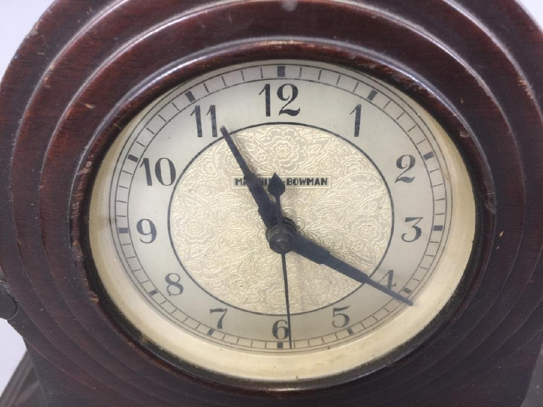 Vintage Art Deco Manning-Bowman Electric Clock - 3