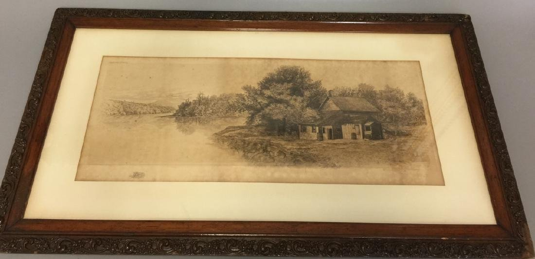 Antique H.C. Rost Signed Framed Print