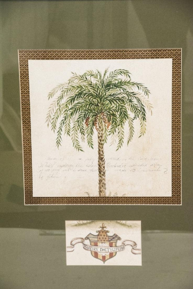 Contemporary Pair Of Tropical Tree Paintings - 2