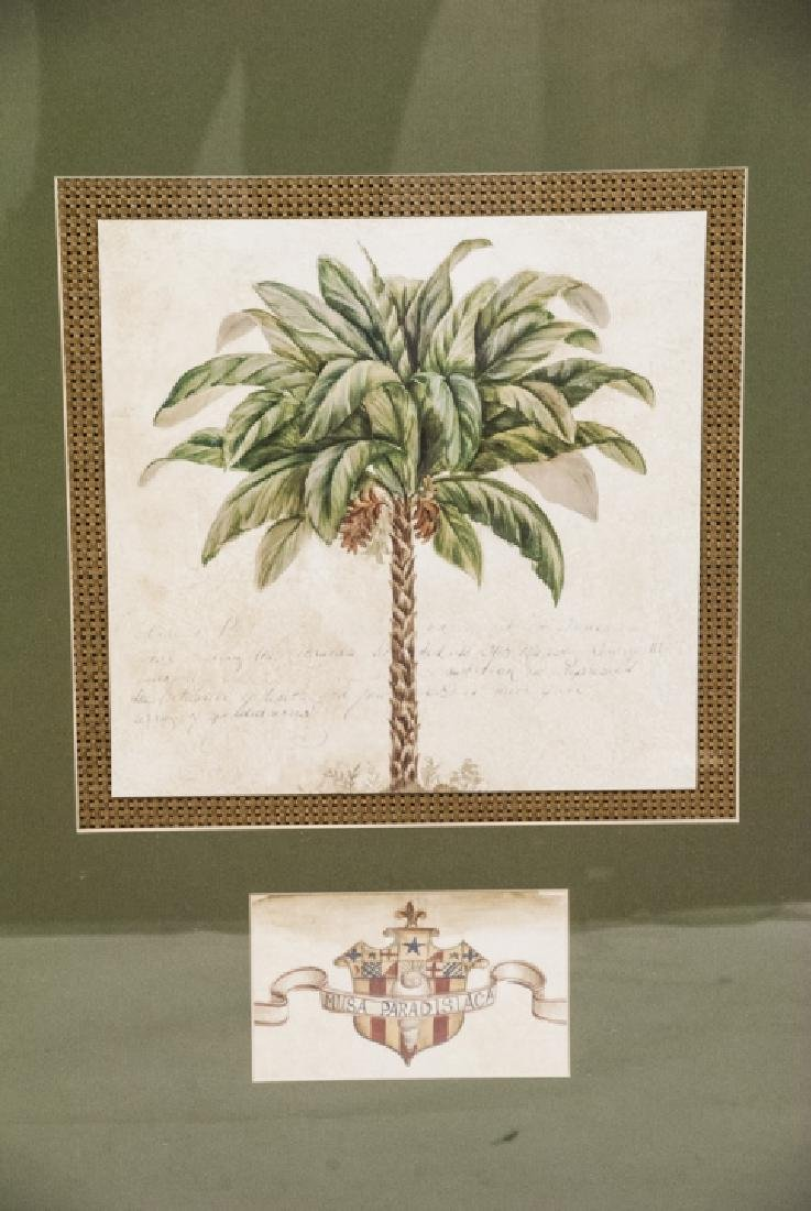 Contemporary Pair Of Tropical Tree Paintings - 3