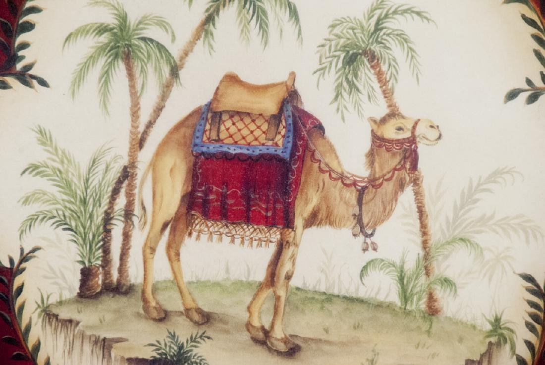 Contemporary Pair of East Indian Animal Paintings - 2