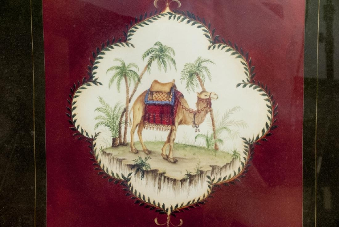 Contemporary Pair of East Indian Animal Paintings - 3