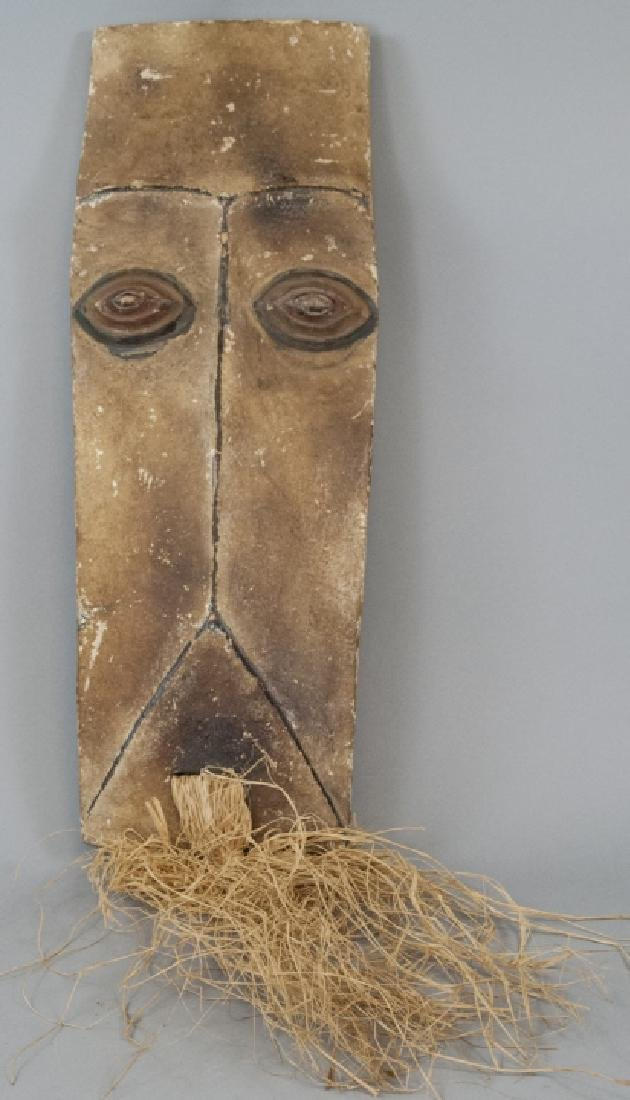 Hand Carved African Tribal Mask Decoration