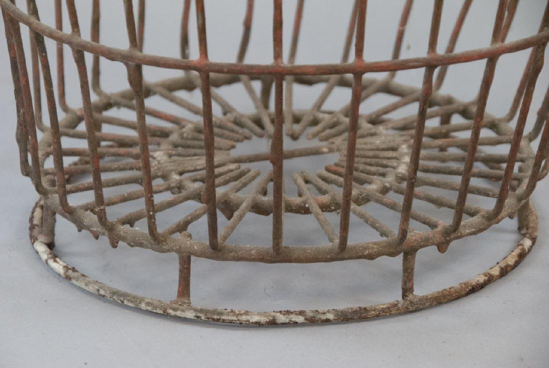 Antique Country American Industrial Wire Basket - 3