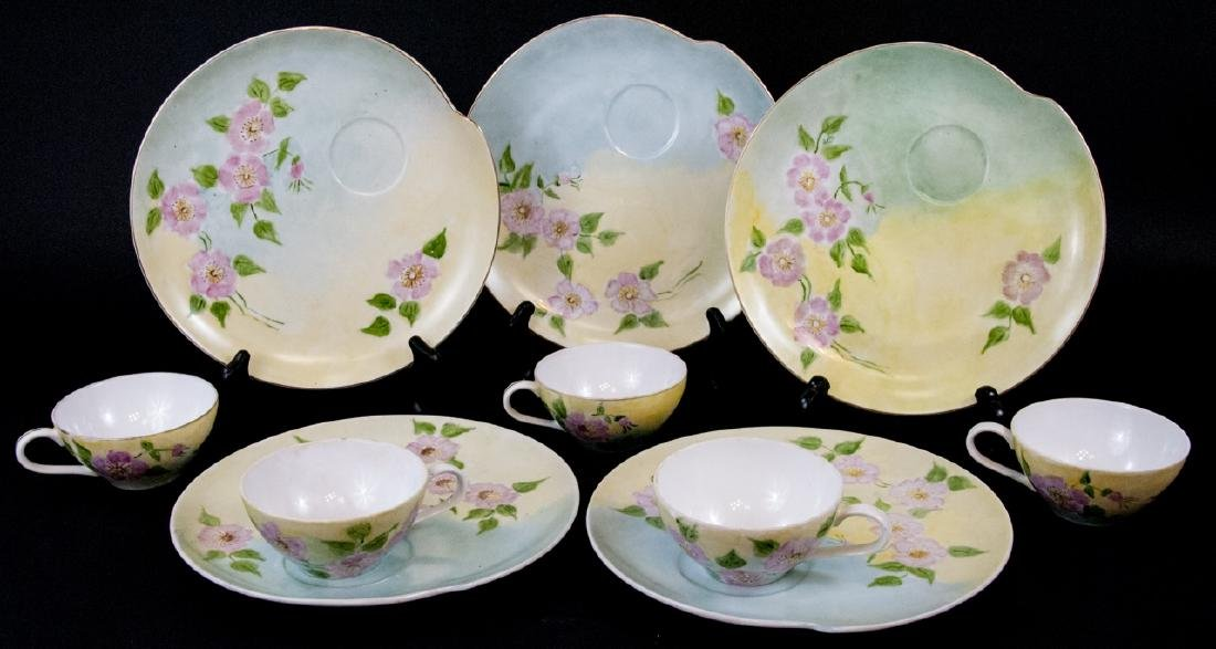 Antique Nagoya China Hand Painted Service
