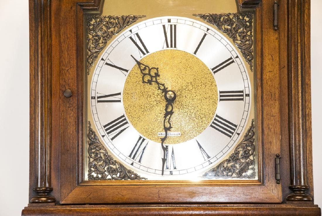 Contemporary Seth Thomas Grandfather Clock - 2