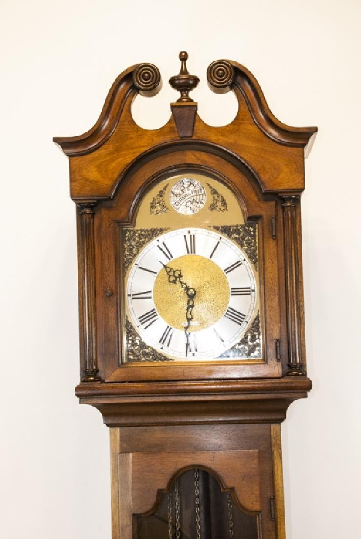 Contemporary Seth Thomas Grandfather Clock - 6