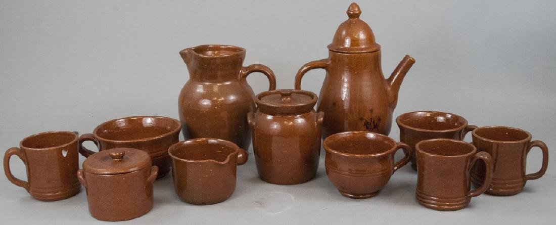 12 Piece Set Of Seagrove Pottery Kitchen Items