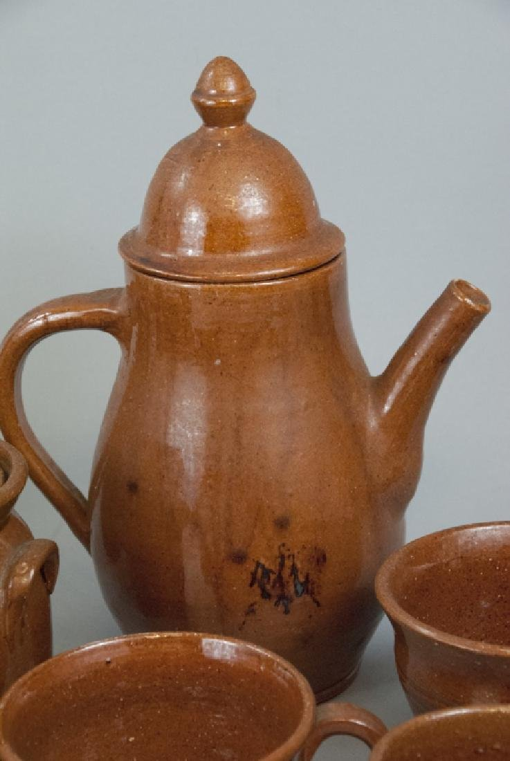 12 Piece Set Of Seagrove Pottery Kitchen Items - 2
