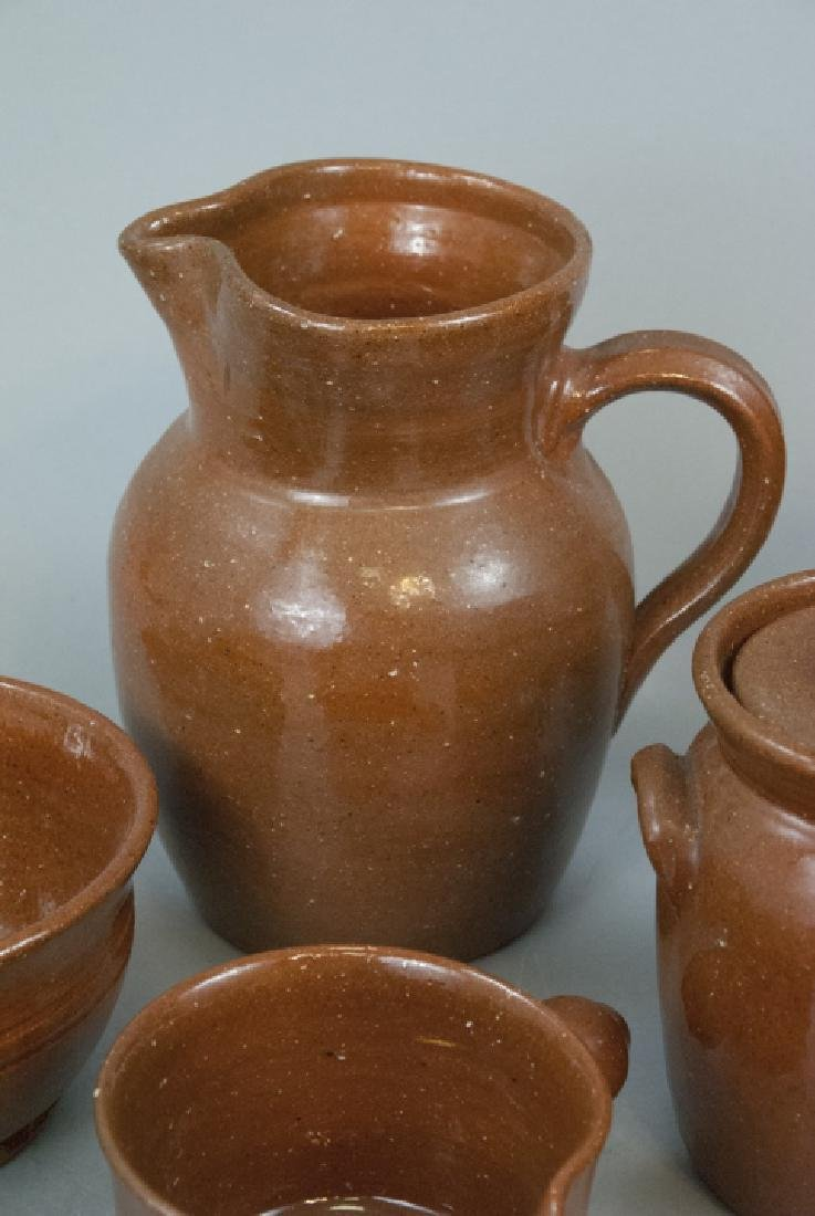 12 Piece Set Of Seagrove Pottery Kitchen Items - 3