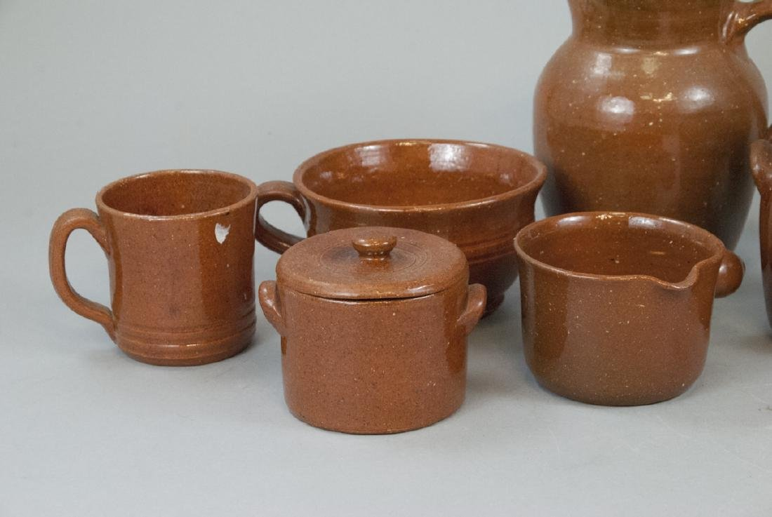 12 Piece Set Of Seagrove Pottery Kitchen Items - 4