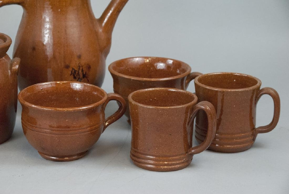 12 Piece Set Of Seagrove Pottery Kitchen Items - 6