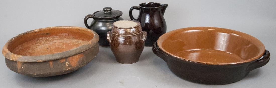 Assorted Lot Of Earthenware Pottery