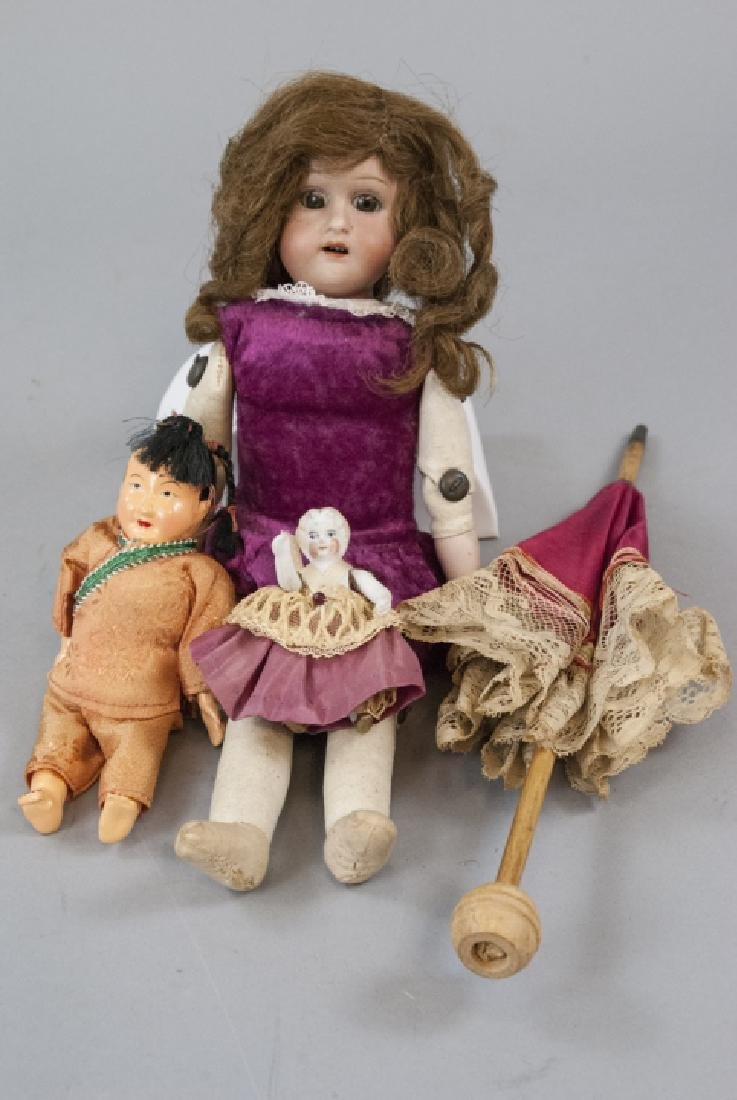 Antique & Vintage Dolls in Bisque & Composition
