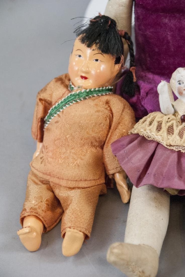 Antique & Vintage Dolls in Bisque & Composition - 5