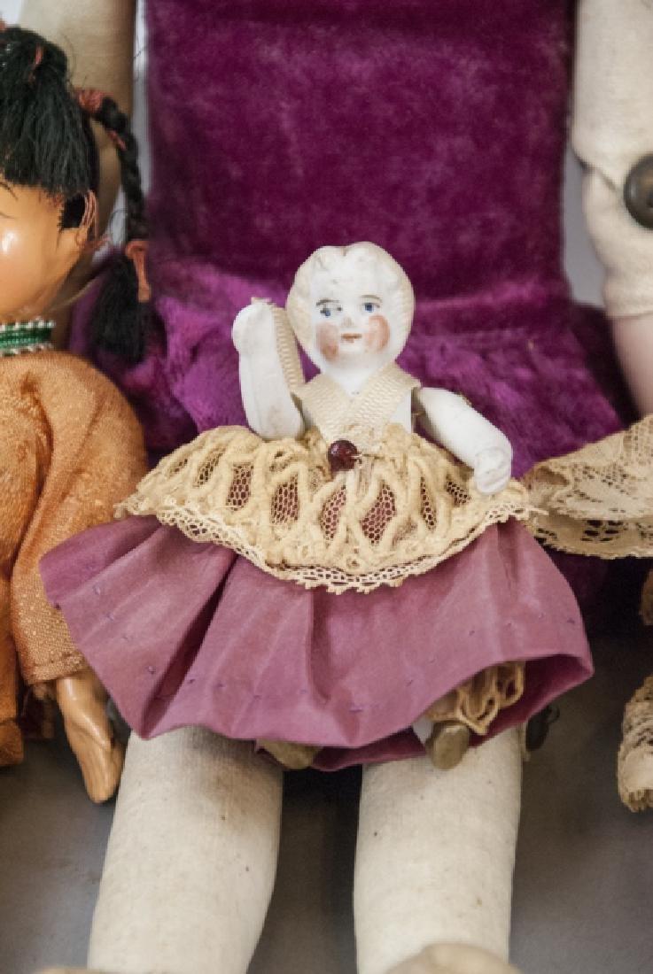 Antique & Vintage Dolls in Bisque & Composition - 6