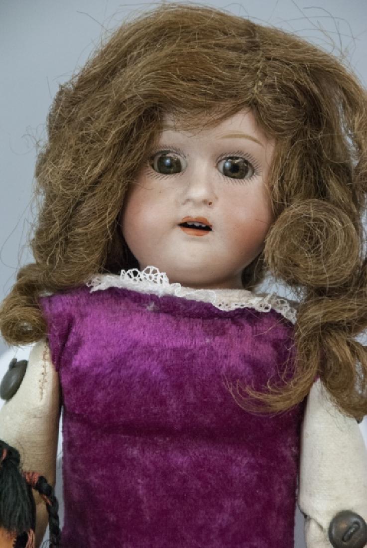 Antique & Vintage Dolls in Bisque & Composition - 7