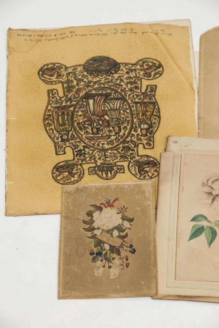 Assorted Lot Of Antique Prints & Letters - 5