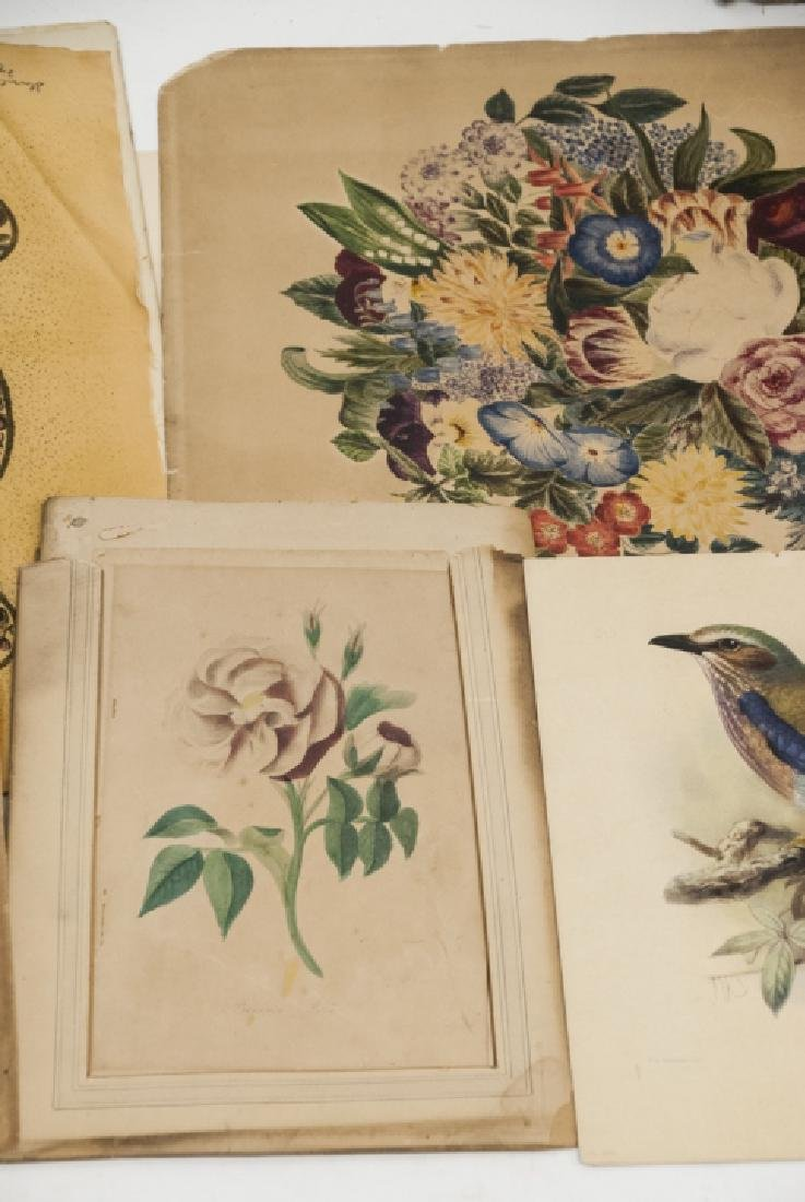 Assorted Lot Of Antique Prints & Letters - 6