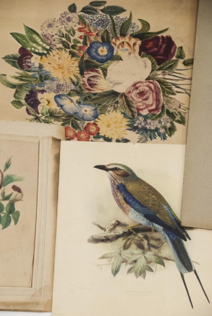 Assorted Lot Of Antique Prints & Letters - 7