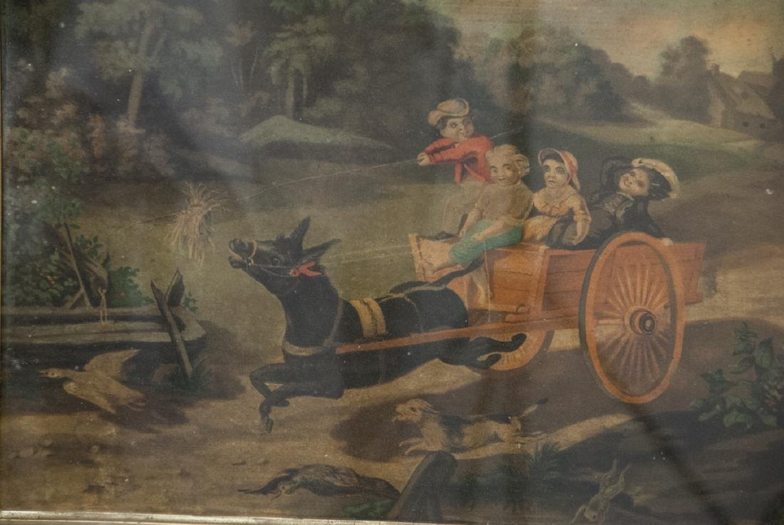 Two Antique Color Lithography Print - 2