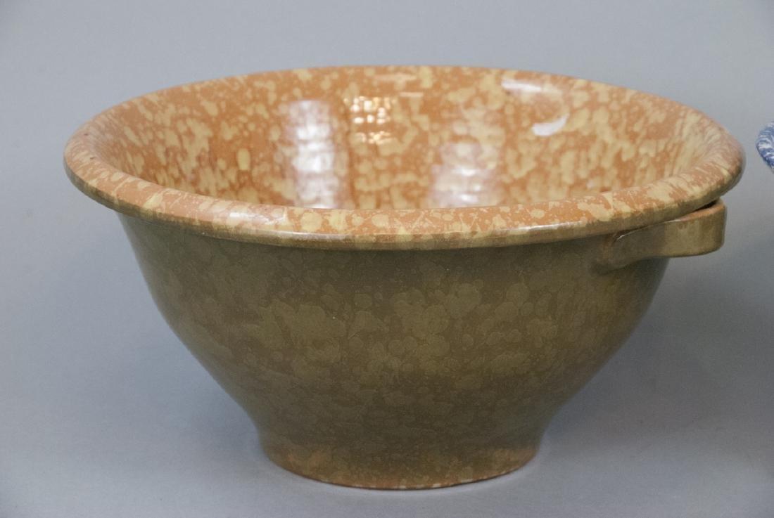 Lot Of Four Vintage Splatter Ware Bowls - 2