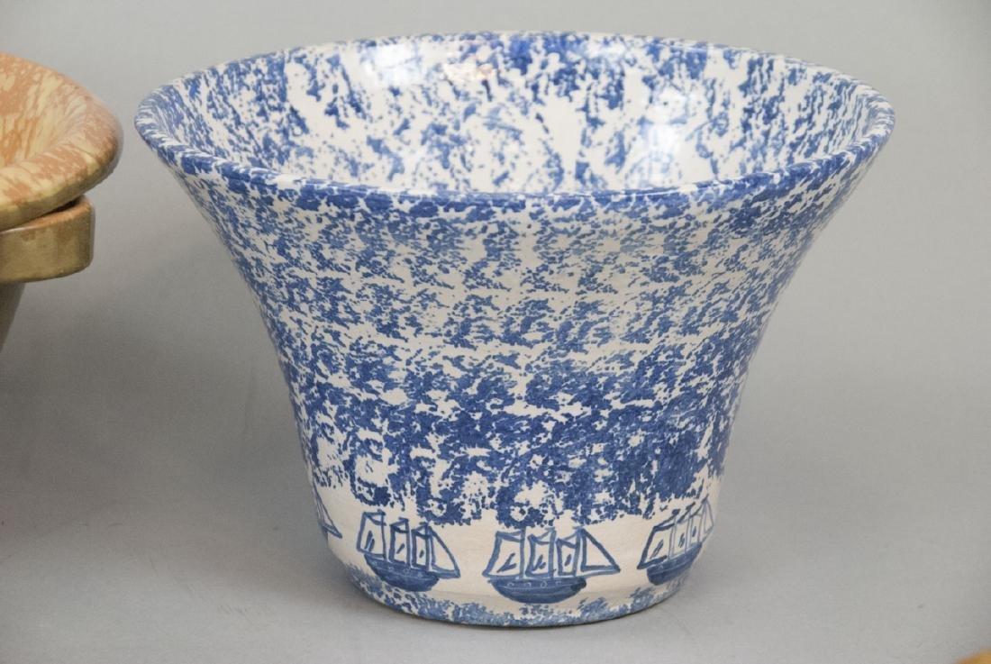 Lot Of Four Vintage Splatter Ware Bowls - 3
