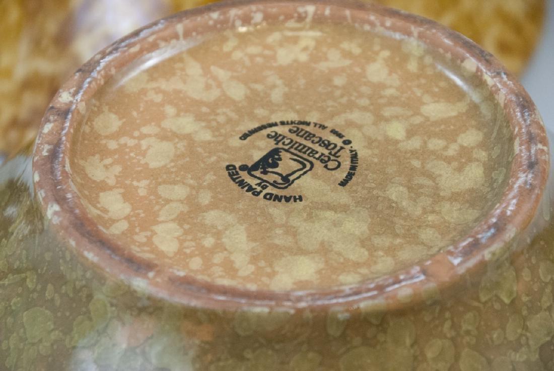 Lot Of Four Vintage Splatter Ware Bowls - 6