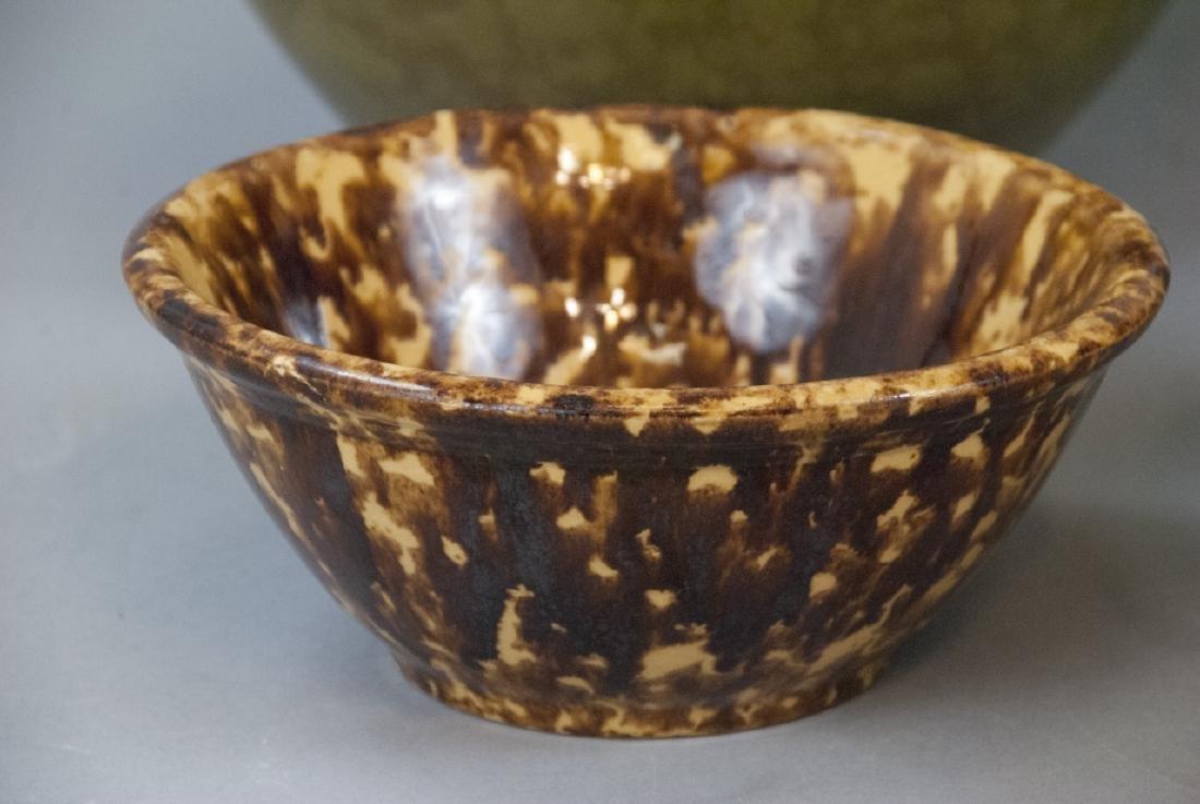 Lot Of Four Vintage Splatter Ware Bowls - 9