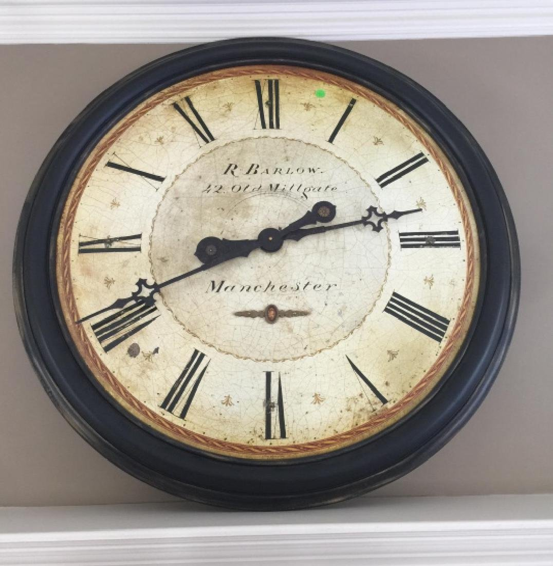 Contemporary Decorative 19th C Style Wall Clock