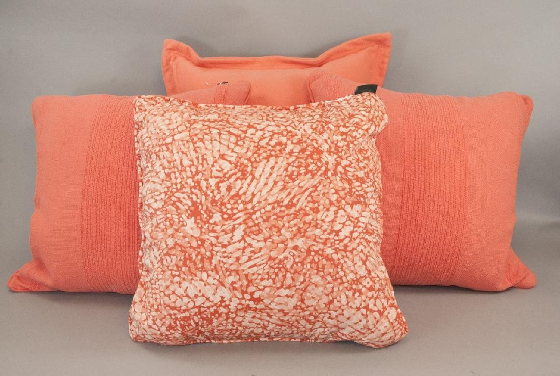 Group Of Assorted Designer Contemporary Pillows