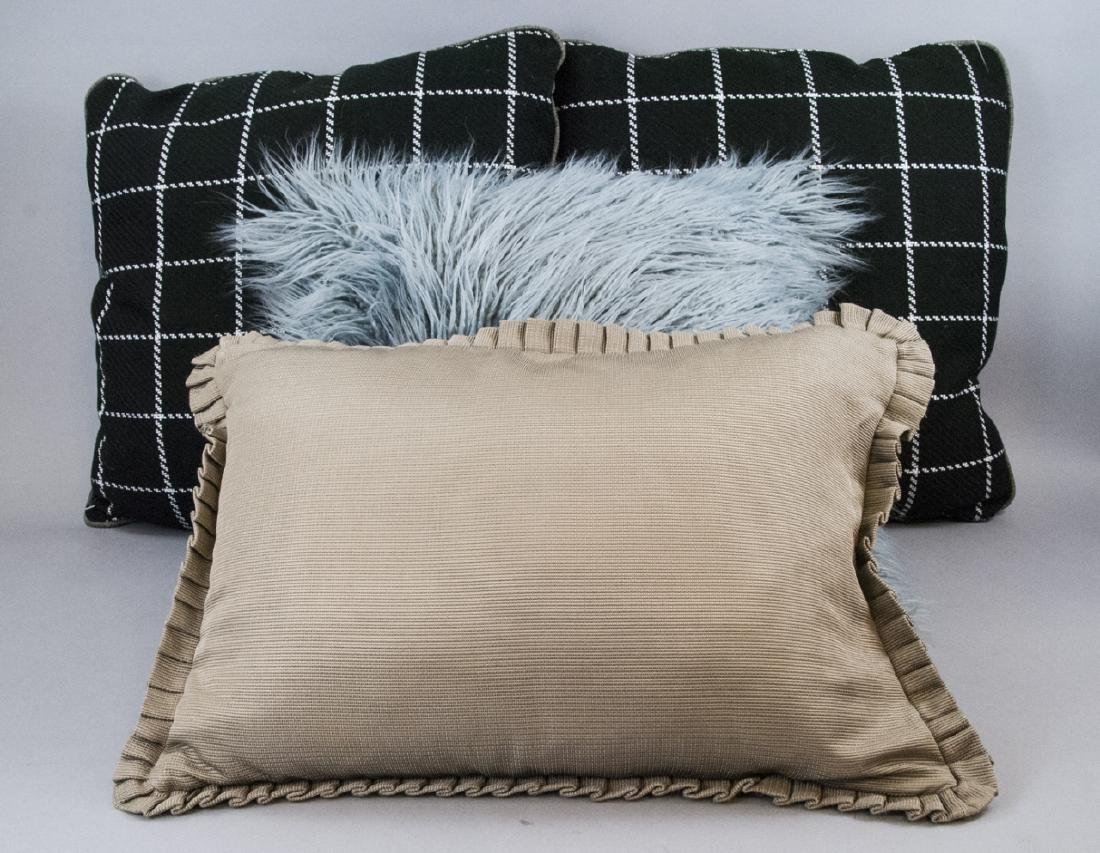 Assorted Group Of Contemporary Pillows