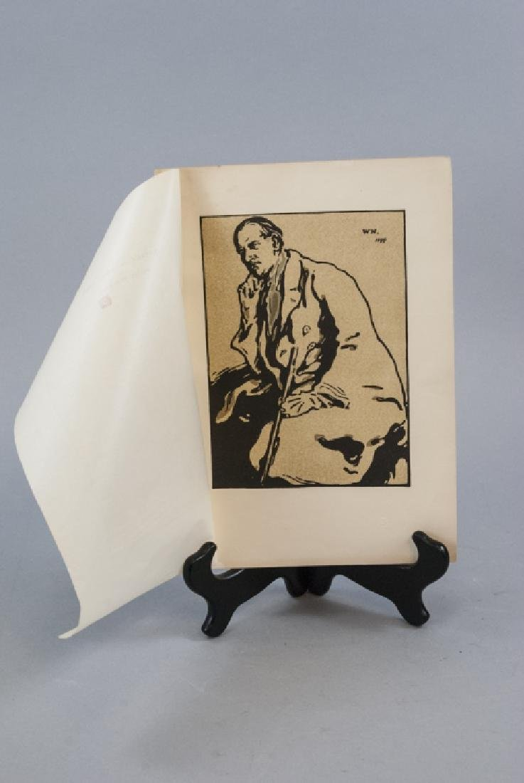 William Nicholson Portrait of James Pryde Print
