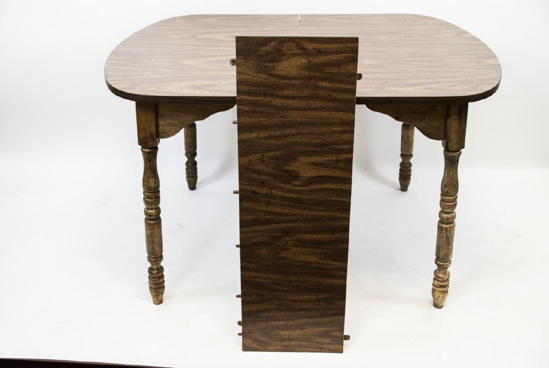 American Country Colonial Style Wood Table